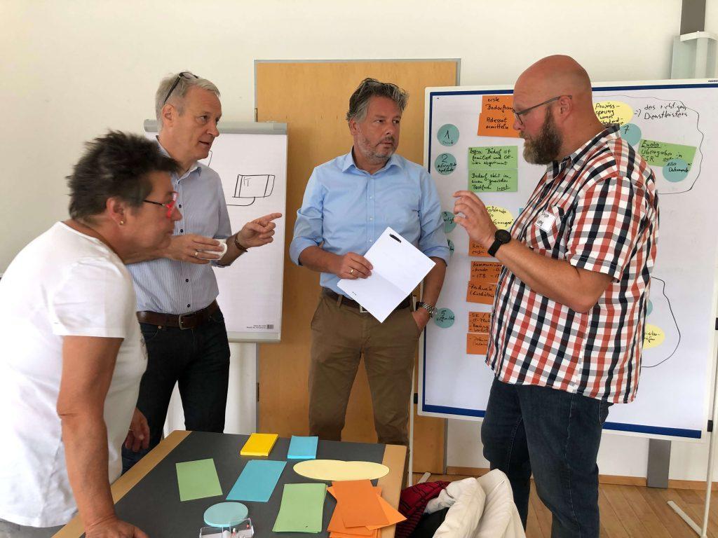 Selbstorganisierte Prozess Teams - Workshop Dr.-Ing. Claudia Kostka